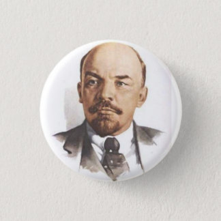 V.I. Lenin-Button Runder Button 2,5 Cm