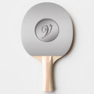 V Monogramm Tischtennis Schläger