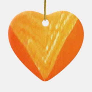 V Sieg-Gold: Geschenke für Wedding Verlobung Keramik Herz-Ornament