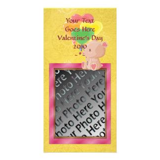 V-Tägige Teddy-Bärn-Foto-Karte Bildkarten