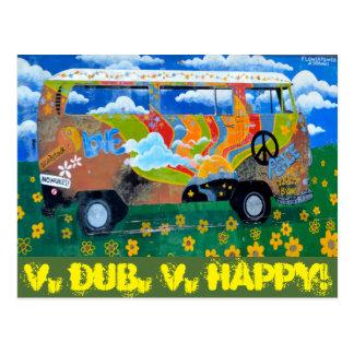 V. Tollpatsch, V.Happy! Postkarte