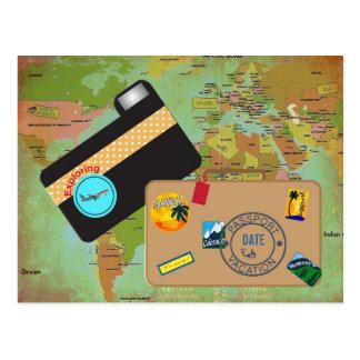 Vacationing Postkarte