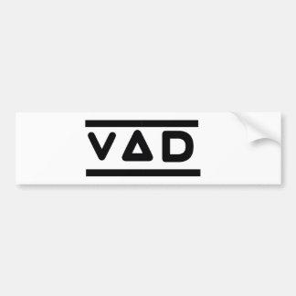 VAD Auto-Stoßdämpfer-Logo Autoaufkleber