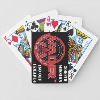 VADER 2000. Auftrag-Plattformen Poker Karten