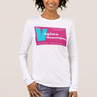 Vagina-Monologe Indianapolis Langarm T-Shirt