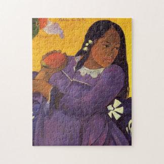 """""""Vahine kein Te VI"""" - Paul Gauguin Puzzle"""