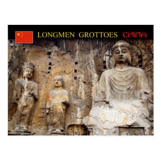 Vairocana Buddha, Longmen Grotten, China Postkarte