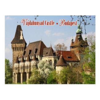 Vajdahunyad Schloss, Budapest, Ungarn Postkarte