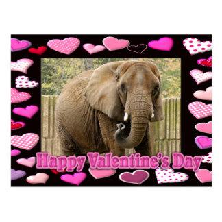 val-elephant-00045-6x4 postkarte