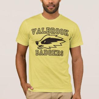 Valbrook Dachs-Fußball T-Shirt