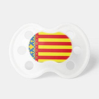 Valencia-Flagge Schnuller