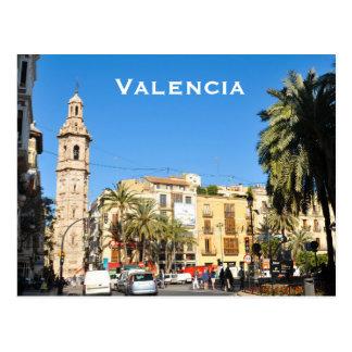 Valencia in Catalunia, Spanien Postkarte