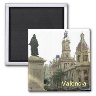 Valencia-Magnet Quadratischer Magnet