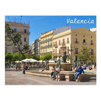 Valencia Postkarte