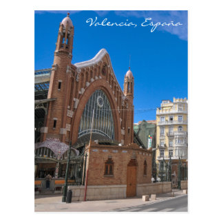 Valencia, Spanien Postkarte