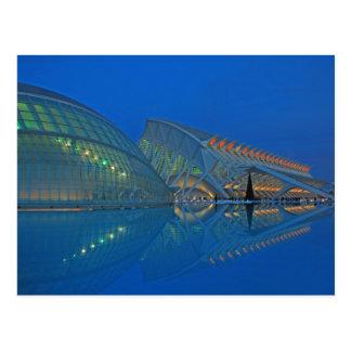 Valencia - Stadt der Künste und der Wissenschaften Postkarte
