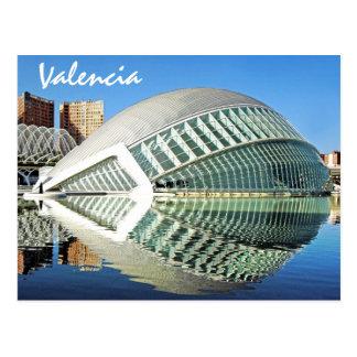 Valencia, Stadt von Künsten und von Wissenschaften Postkarte