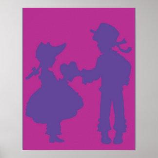 <Valentine> durch Steve-Bergmann Poster
