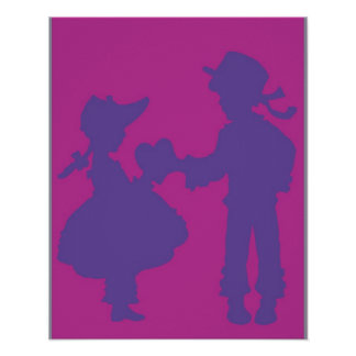 <Valentine> durch Steve-Bergmann Plakat