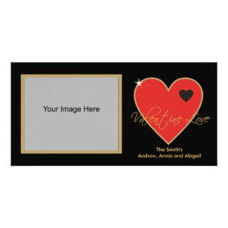Valentine-Liebe-Foto-Karten Photokarten