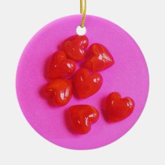 Valentine-Liebe-Herz-Verzierung Keramik Ornament