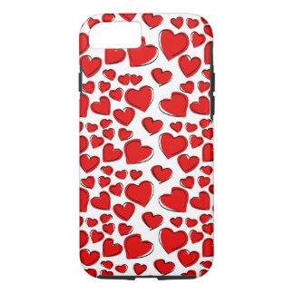 Valentine-Liebe-Herzen iPhone 8/7 Hülle