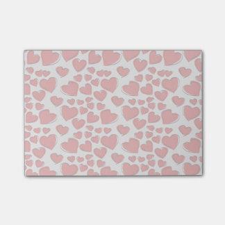 Valentine-Liebe-Herzen Post-it Klebezettel