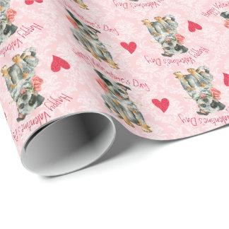 Valentine-Rose ACD Geschenkpapier