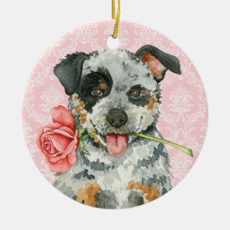 Valentine-Rose ACD Keramik Ornament