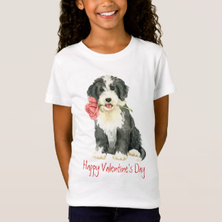 Valentine-Rose Beardie T-Shirt