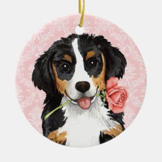 Valentine-Rose Berner Keramik Ornament