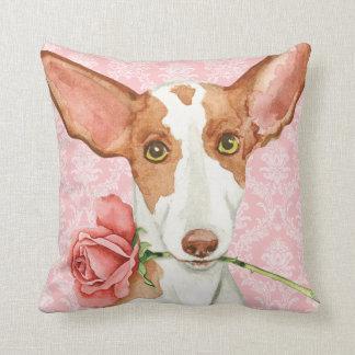 Valentine-Rose Ibizan Jagdhund Kissen
