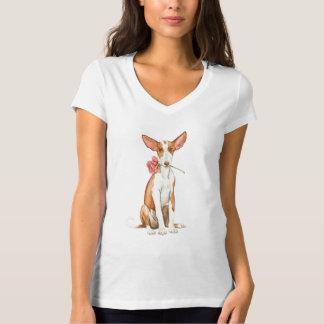 Valentine-Rose Ibizan Jagdhund T-Shirt