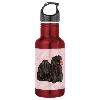 Valentine-Rose Puli Trinkflasche