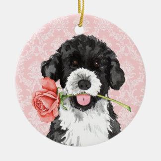 Valentine-Rose PWD Keramik Ornament