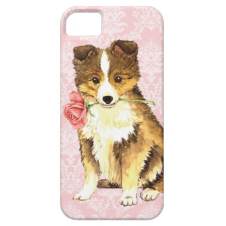 Valentine-Rose Sheltie iPhone 5 Hüllen