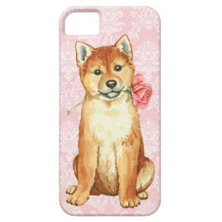 Valentine-Rose Shiba Inu Etui Fürs iPhone 5