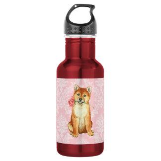 Valentine-Rose Shiba Inu Trinkflasche