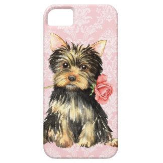 Valentine-Rose Yorkie Etui Fürs iPhone 5