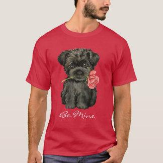 Valentine-RoseAffenpinscher T-Shirt