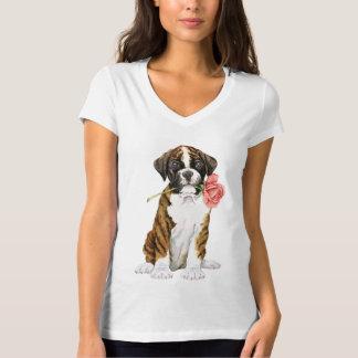 Valentine-Rosen-Boxer T-Shirt