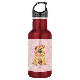 Valentine-Rosen-Chow-Chow Trinkflasche
