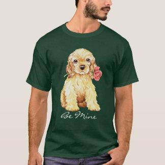 Valentine-Rosen-Cockerspaniel T-Shirt