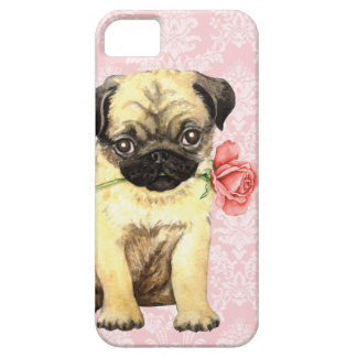 Valentine-Rosen-Mops iPhone 5 Case