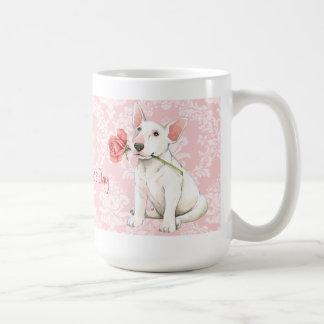 Valentine-Rosen-Stier-Terrier Kaffeetasse