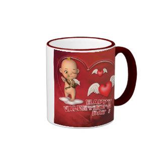 Valentine-Tagestoon-Baby-Tasse Ringer Tasse