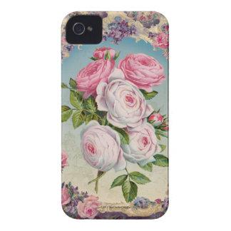 Valentine-viktorianische Rosen iPhone 4 Hüllen