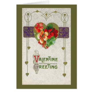 Valentinegreeting Karte