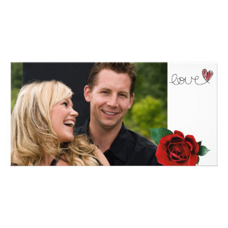 Valentines-Liebe-Foto-Karte Photogrußkarten