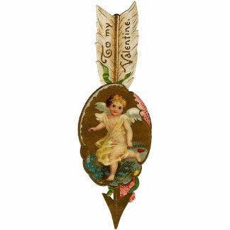 Valentines-Verzierungs-Karte und Geschenk - mit Fotoskulptur Ornament
